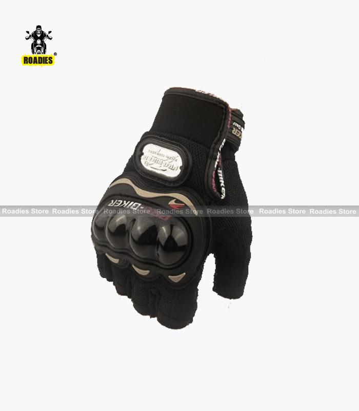 pro biker gloves half