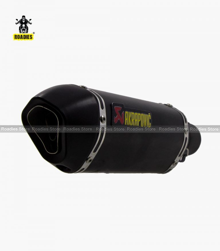 Akrapovic Exhaust Matt Black Foll All Bikes