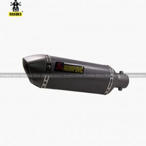 Akrapovic Slip-On Exhausts In Silver Color Foll All Bikes