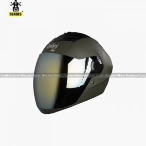 STEELBIRD Air SBA-2 MATT BATTLE GREEN Full Face Helmet