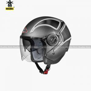 SMK Phoenix HI TECH Matt Black 2CA Dual Visor Helmet