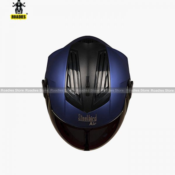 STEELBIRD AIR SBA-2 MATT YAMAHA BLUE Helmet