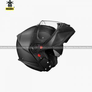 SMK Glide UNICOLOR Dual Visor Helmet