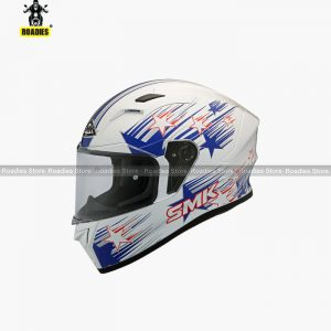 SMK STELLAR RAIN STAR GL153 Full Face Helmet