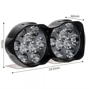 Universal 18 LEDs Lights For Motorbike 30 Watt 3000LM