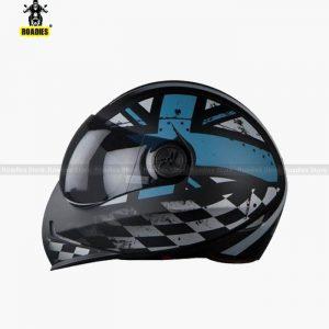 STEELBIRD SB-50 Adonis Ross Glossy Black With Navy Blue