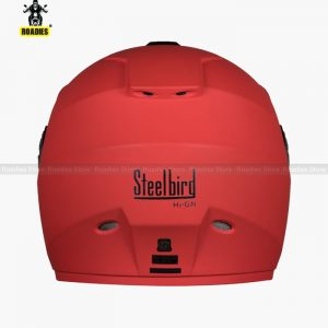 Steelbird HI-GN Vision Painted Matt Cherry Red