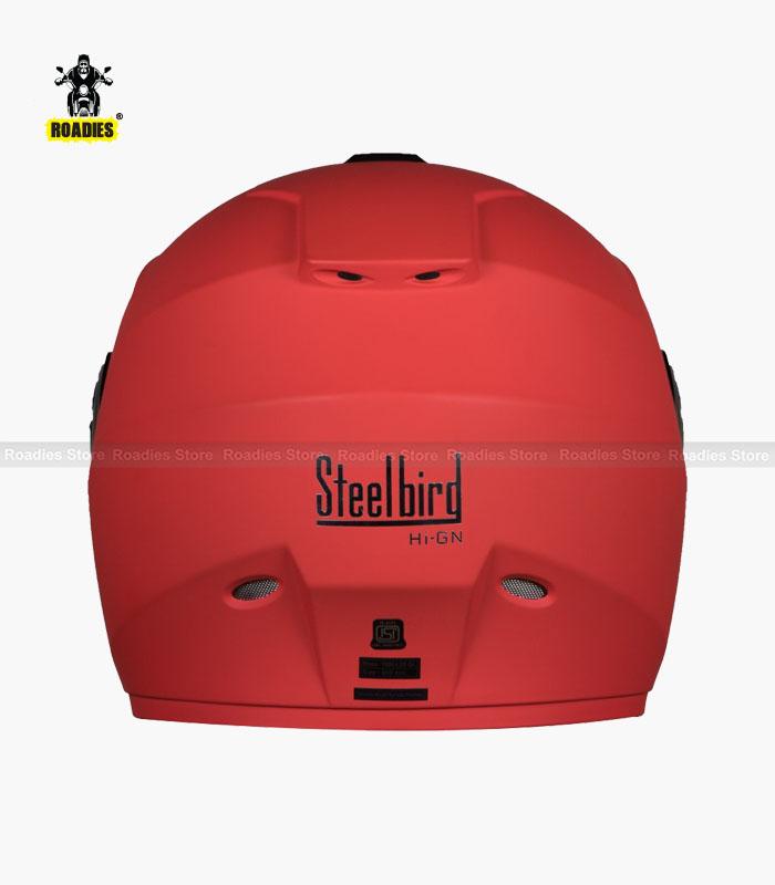 Steelbird HI-GN Vision Painted Matt Cherry Red