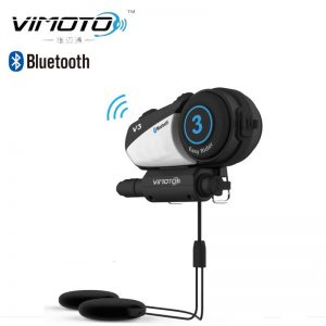 Vimoto V3 Helmet Bluetooth Headset Motorcycle Multi-functional