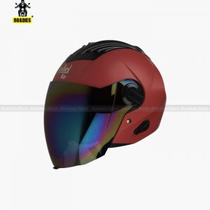 STEELBIRD AIR SBA-3 DASHING RED OPEN FACE HELMET