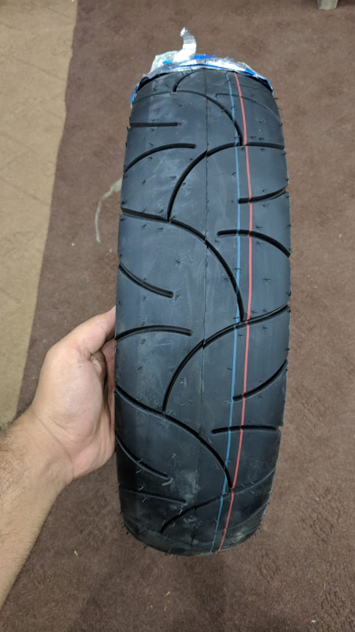 Wide Tubeless Tyre 130-70-17 China Made