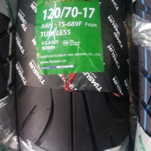 TubeLess Tyre Timsun 120-70-17 TS-689F