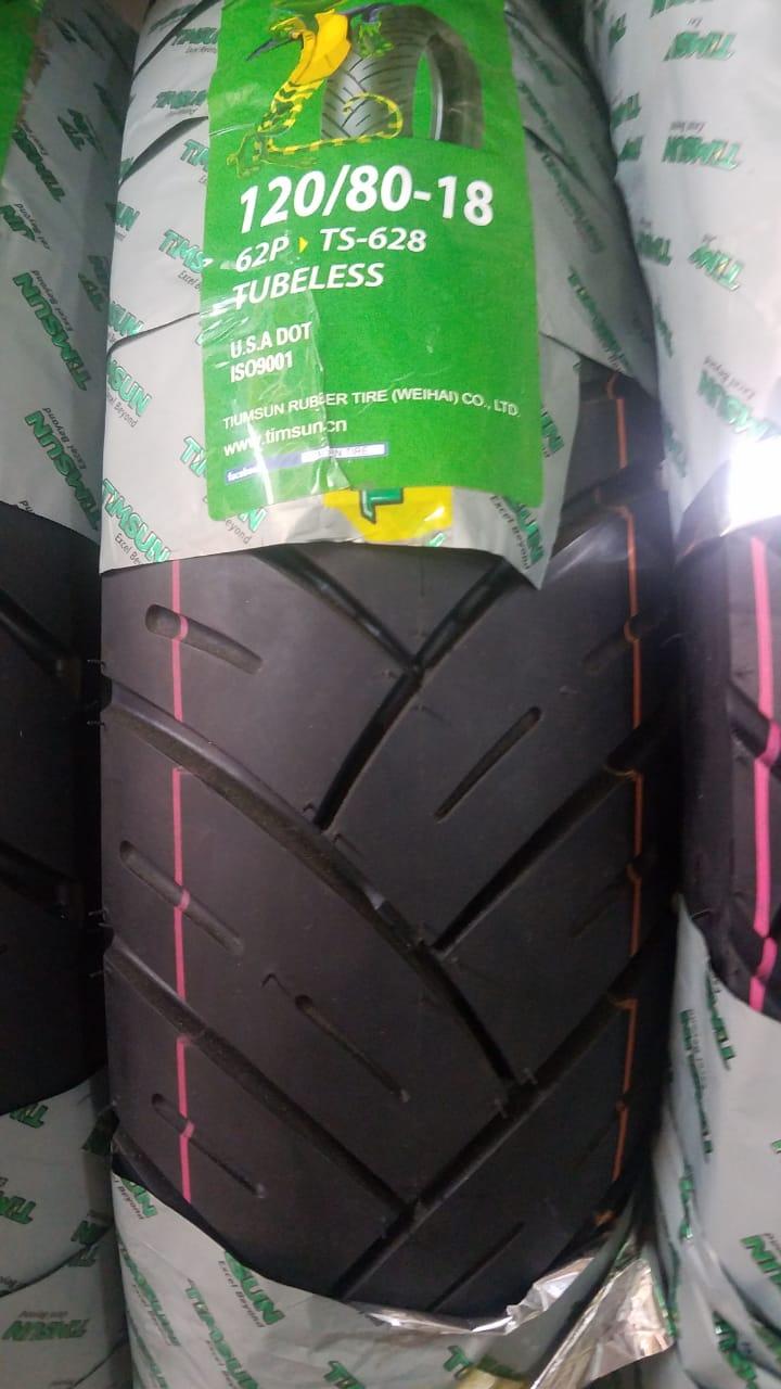 TubeLess Tyre Timsun 120-80-18 TS-628