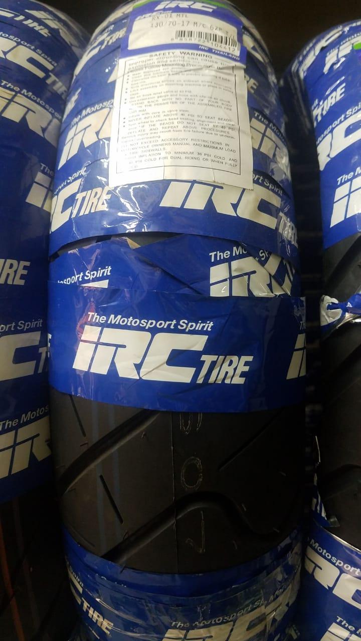 IRC 130-70-17 Road Winner RX-01 Tires