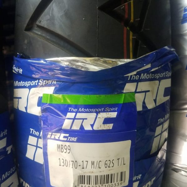 IRC 130-70-17 MB99 62-S Tyre DOT Approved