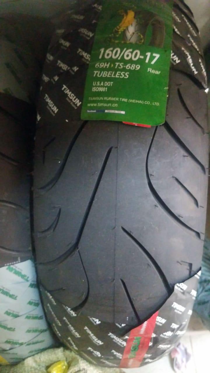 TubeLess Tyre Timsun 160-60-17 TS-689