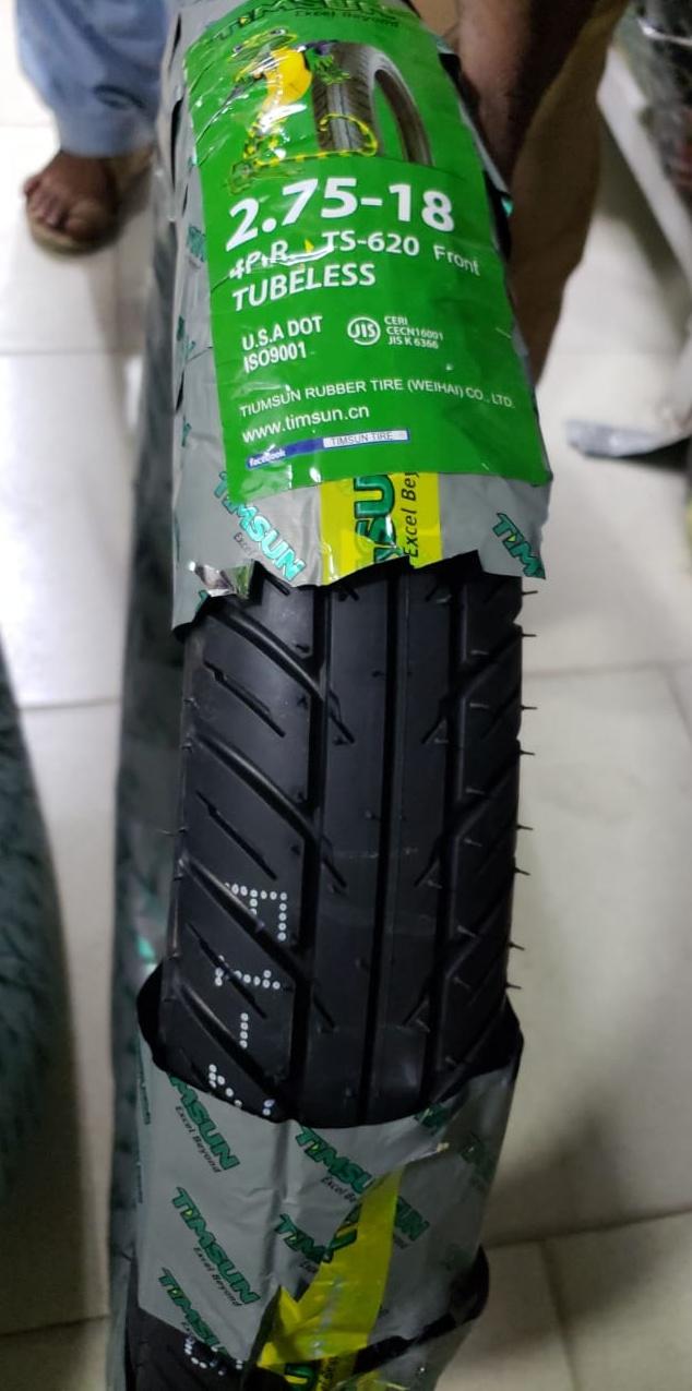 Tubeless Timsun 2.75-18 Tyre TS-620