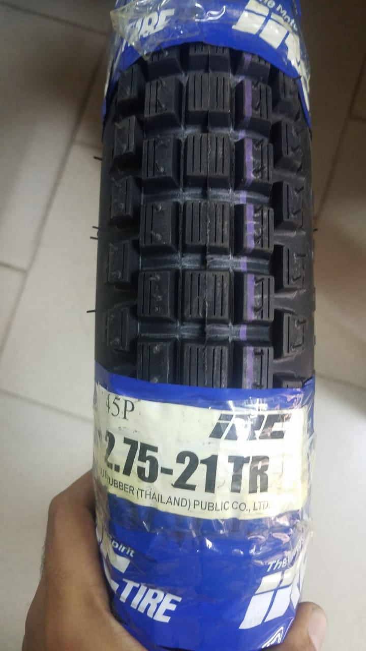 IRC 2.75-21 tr1 Dual Purpose Tyre