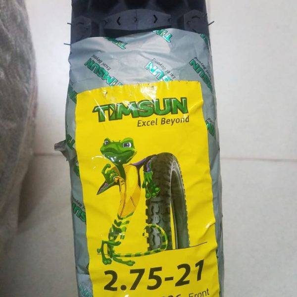 Tube Type Timsun 2.75-21 Tyre TS-826 Tyre
