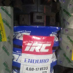 IRC 4.60-17 Volcanduro VE-33 Tyre 6PR