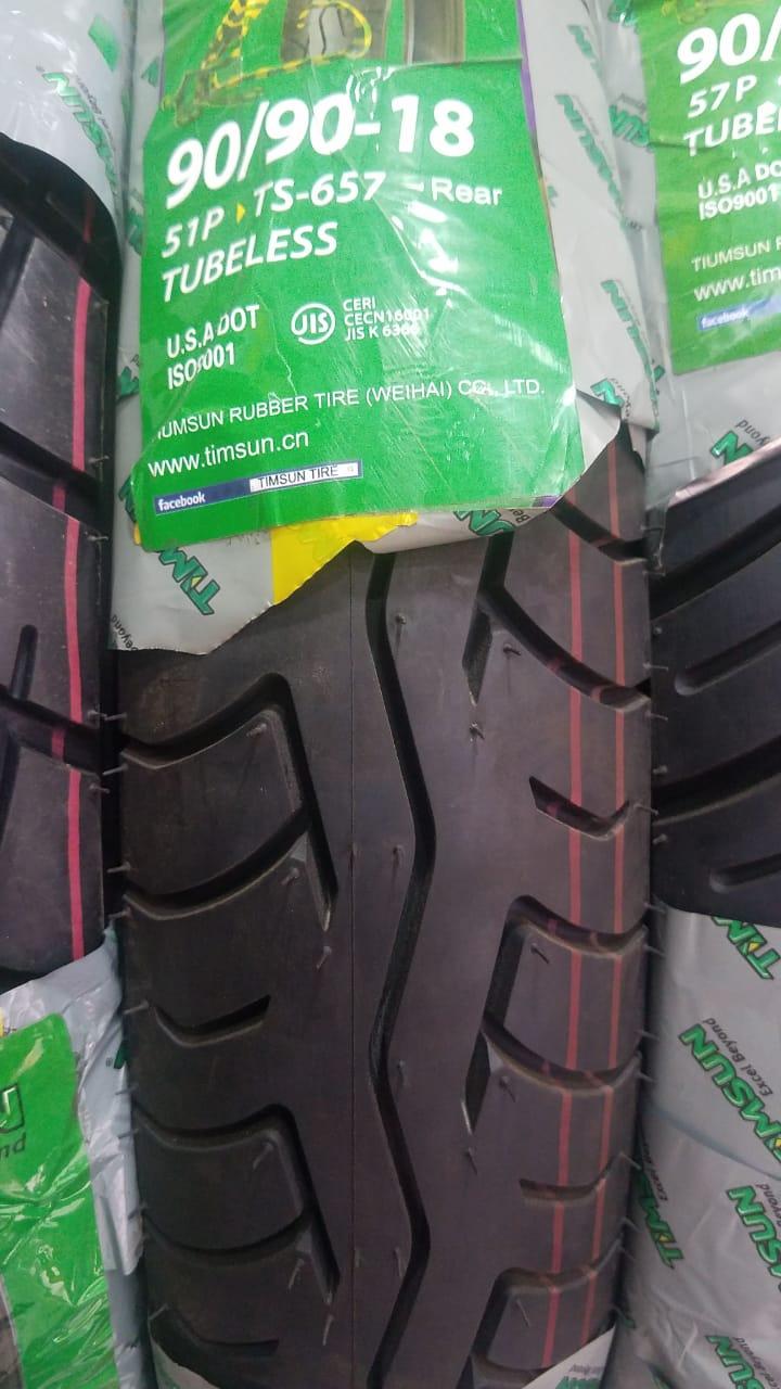 Tubeless Tyre Timsun 90-90-18 TS-657