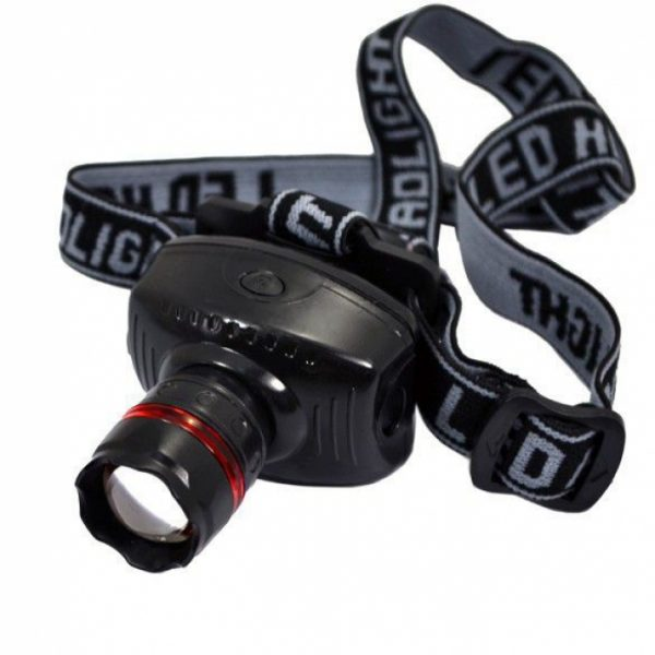 HEAD LAMP SINGLE BULB for Camping and Tracking