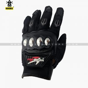 Pro biker Motorcycle Full Finger Gloves With Metal Protection