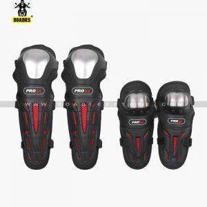 Pro X 4PCs Knee & Elbow Protective Armor Guards