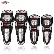 PROBIKER Knee & Elbow Metallic Guards HX-P19