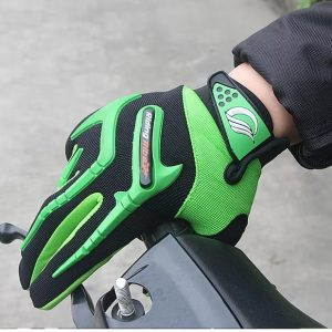 RIDING TRIBE GLOVES GREEN WITH BLACK