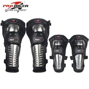 PRO X Knee & Elbow Metallic Guards
