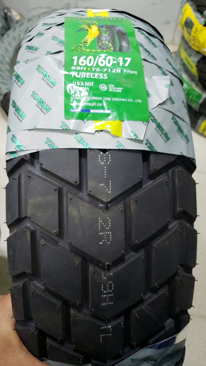 TubeLess Tyre Timsun 160-60-17 TS-712