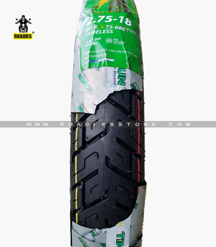 TubeLess Tyre Timsun 2.75-18 TS-686