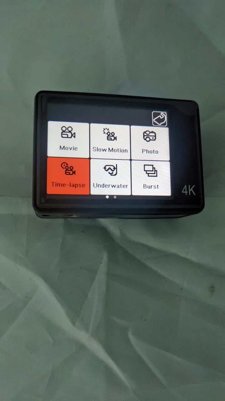 Roadies Action R2-3 Sports Cam with Touch Screen 4k Video & Photos Camra