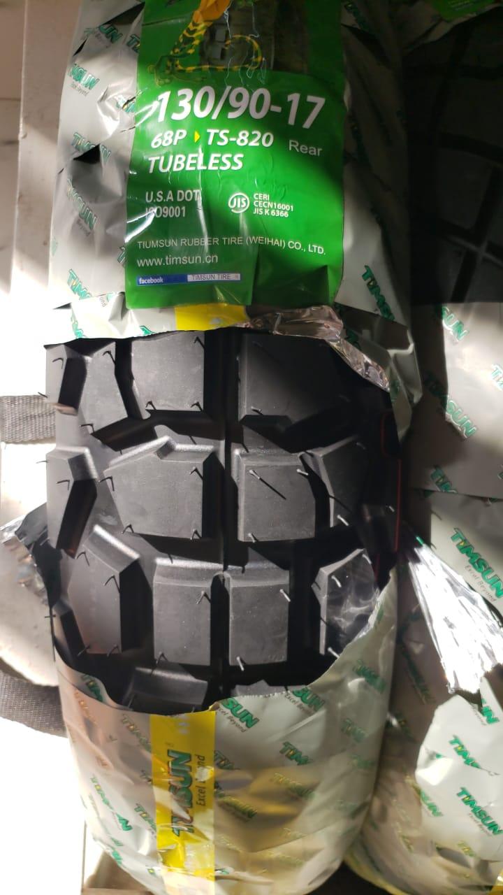 Tubeless Tyre Timsun 130 90 17 Ts 820 Roadies Store