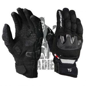 Komine GK-220 Summer Mesh Motorcycle Gloves 3D Protect