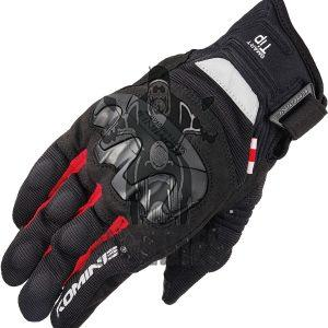 Komine GK-220 Summer Mesh Motorcycle Gloves 3D Protection