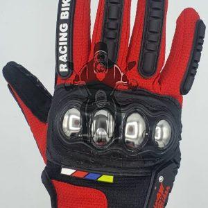 Racing Biker Gloves Touch Active Fingers Breathable