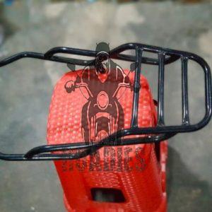 Suzuki GS150 GS150SE High Quality 16 Gauge Back Carrier Rack For Top Box 001