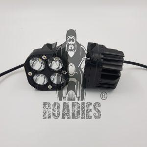Hi Powered LED lights for external installation as fog lamps on your motorcycle.
