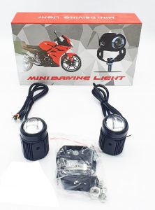 D2 Light Direct Mini Fog Lamp and Aux For Motorcycles