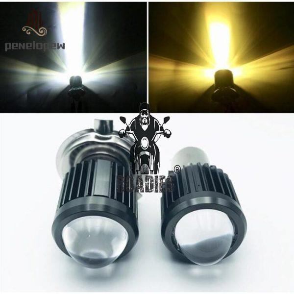 Projector LED Light H4 3 Claws and BA20D Double Claw
