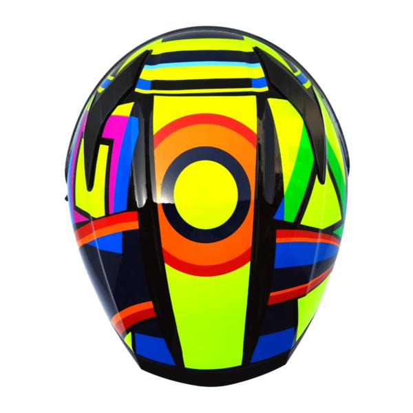 JIEKAI JK-316 A6 VR46 Full Face Dual Visor Helmet DOT CERTIFIED