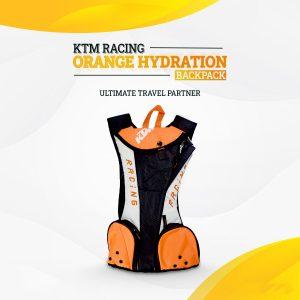 KTM Racing Branded Hydration Backpacks With 2 Liter Bladder