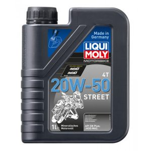 Liqui Moly 20W-50 4T STREET Made in Germany Oil 1L