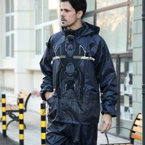 Motorcycle Waterproof Conjoined Rain Suit