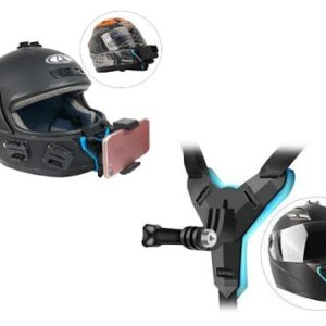 1. This full face helmet holder can mount your action camera at your chin position. 2. It provides unobstructed cycling POV s, just like from your own eye. 3. Adjustable length belt design makes it fit most available full face helmets. 4. Easy Operation, Stable Fixing, Ultra Durable. 5.Come with Phone Stand and Remote,Support 5.5-8.5 wide ,and use the remote control to free your hands Type:Straps & Mounts Usage:Neck, Shoulder, Wrist, Others Type:strap Function:Remote Function:Phone holder